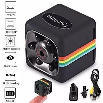 Mini Câmera SQ11 HD 1080 Original Completa