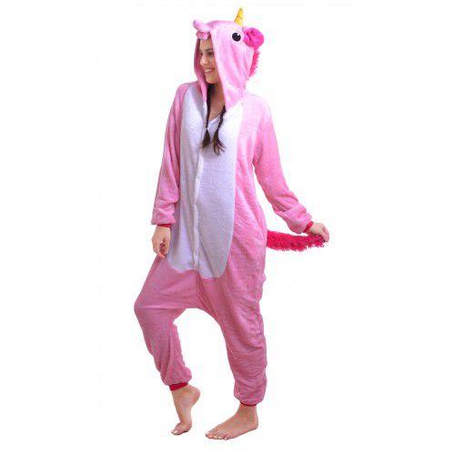 Pijama Unicórnio Rosa