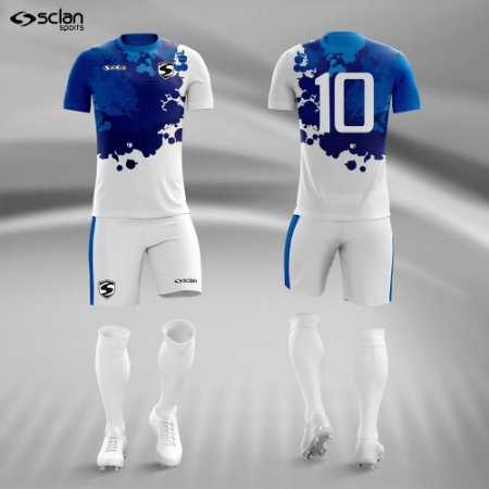 Jogo Uniforme Esportivo Camisa Short, Meião Futebol | Série ouro COD. ss66