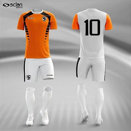 d0246af11c3ae Jogo Uniforme Esportivo Camisa Short