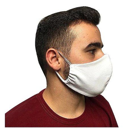 Mascara de Proteção 100% Algodão Reutilizável - 10 Unidades