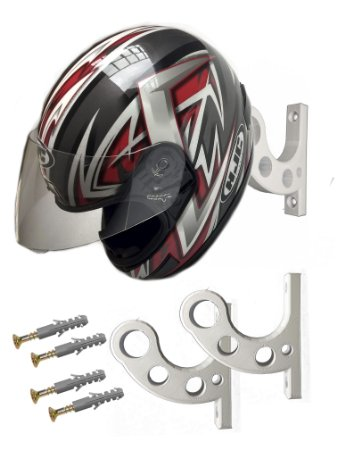 Suporte de parede para capacete - KIT com 2