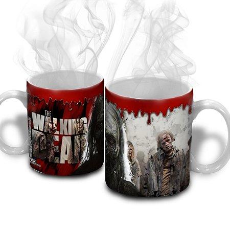 Caneca de Cerâmica The Walking Dead - Zumbis