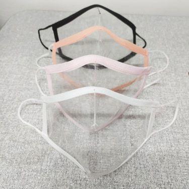 Máscara transparente Anatômica  ,tamanho P , M e G