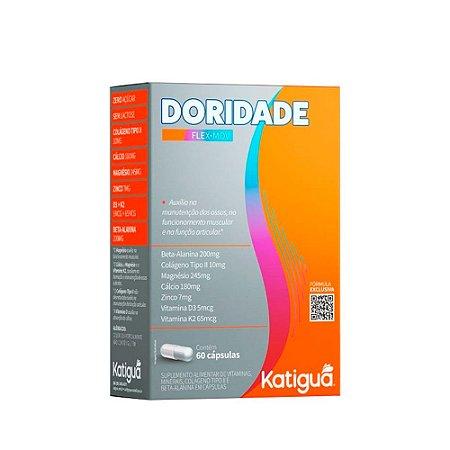 Doridade Katiguá Pré-treino Vitaminas D3 e k2 60 Cápsulas