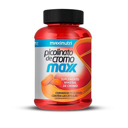 Picolinato de Cromo Maxx - 120 cápsulas - Maxinutri