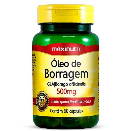 Óleo de Borragem - 60 cápsulas - Maxinutri
