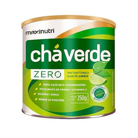 Chá Verde Solúvel Limão Zero - 250 gramas - Maxinutri