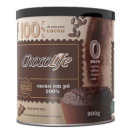 Cacau em Pó 100% - 200 gramas - Chocolife