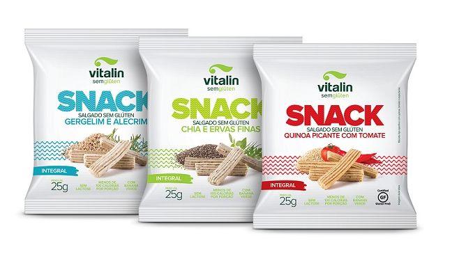 Snack Salgado – 25 gramas - Vitalin
