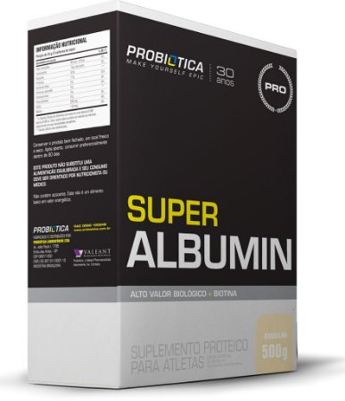 Super Albumin - 500 gramas - Probiotica