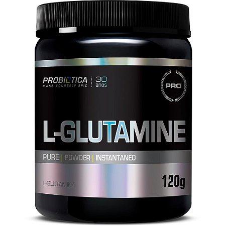 L-Glutamine - 120 gramas - Probiotica