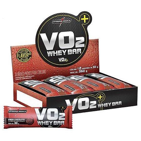 VO2 Protein Barras - 12 unidades de 30 gramas - Integralmedica val: 05 e 06/18