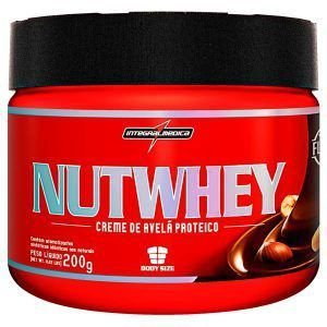 Nut Whey Creme de Avelã Proteico - 200 gramas - Integralmedica