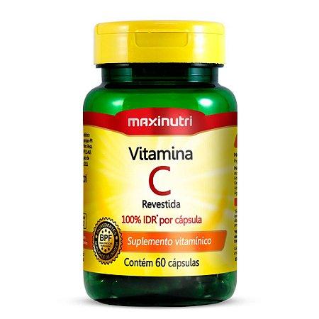 Vitamina C - 60 cápsulas - Maxinutri