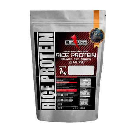 Rice Protein (Proteína Isolada do Arroz) – 1kg – Steel Made