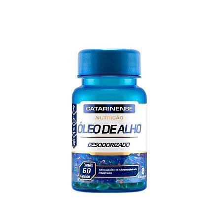 Óleo De Alho Em Cápsulas Desodorizado Catarinense 60 Cáps