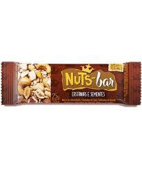 Nuts Barra - 25 gramas - Banana Brasil