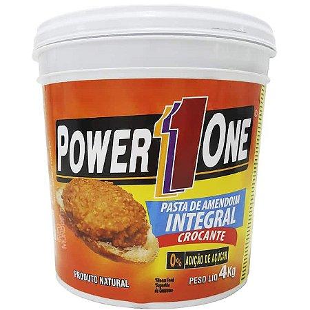 Pasta de Amendoim - 4 kg - Power1One