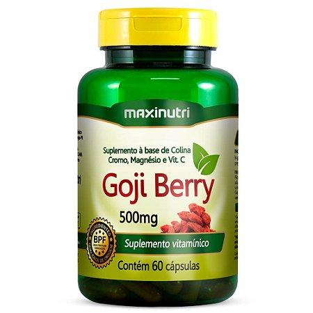Goji Berry - 60 cápsulas - Maxinutri