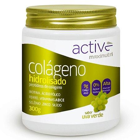 Colágeno Hidrolisado Active - 300 gramas - Maxinutri