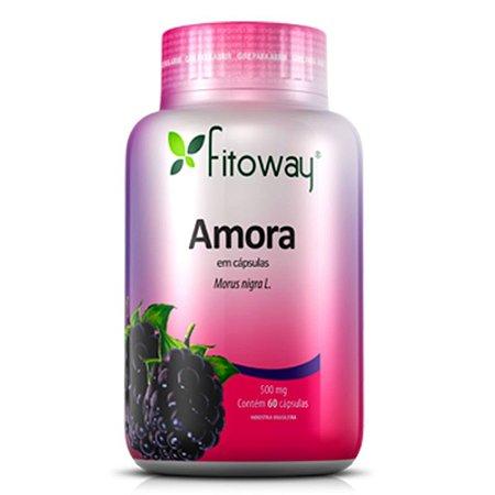 Amora 500mg - 60 cápsulas - Fitoway