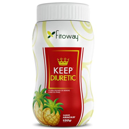 Chá Keep Diuretic Abacaxi - 100g - Fitoway