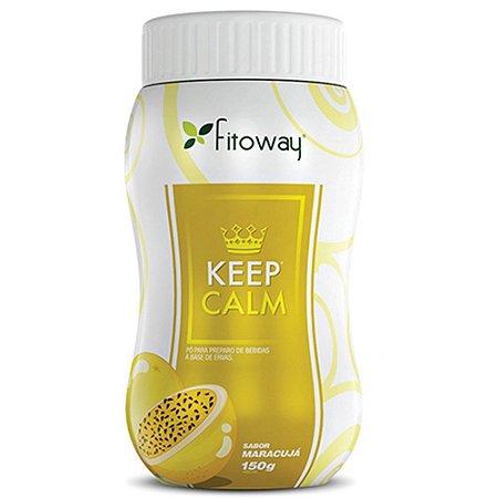 Chá Keep Calm Maracujá - 100g - Fitoway