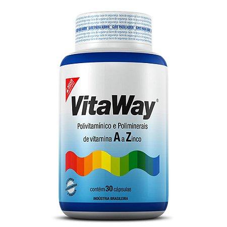 Vitaway A-Z (100% IDR) - 30 cápsulas - Fitoway