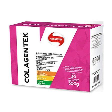 Colagentek Hidrolisado - 30 sachês de 10g - Vitafor
