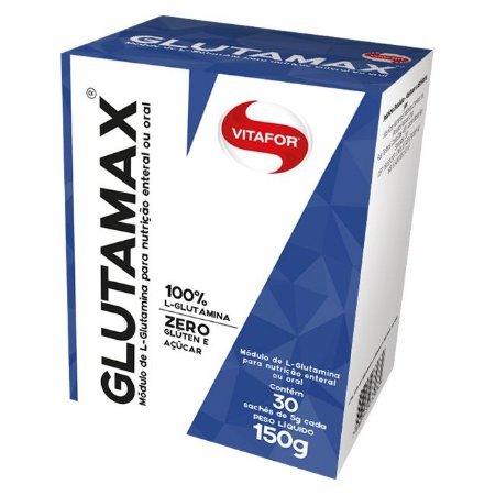 Glutamax Glutamina 30 Sachês De 10 Gramas Vitafor 100g