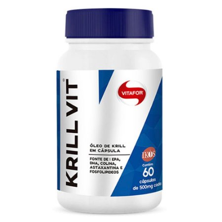Krill Vit - 60 cápsulas - Vitafor