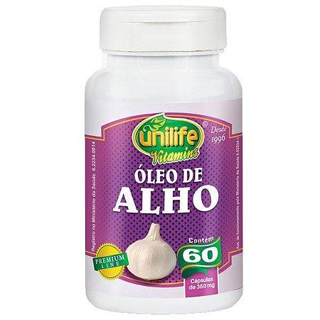 Óleo de Alho - 60 Cápsulas - Unilife