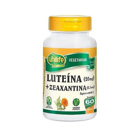 Luteína e Zeanxantina - 60 Cápsulas - Unilife
