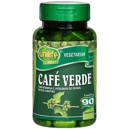 Café Verde Em Cápsulas Unilife Vitamina C 90 Cáps