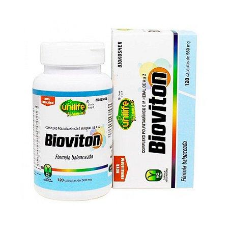 Multivitamínico Bioviton - 120 Cápsulas - Unilife
