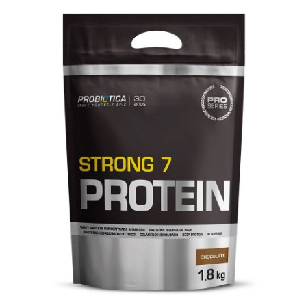 Strong 7 Protein - 1,8 Kg - Probiótica Chocolate VAL: 11/2019