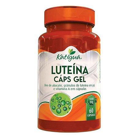 Luteína Com Vitamina A Katigua Suplemento 60 Cápsulas