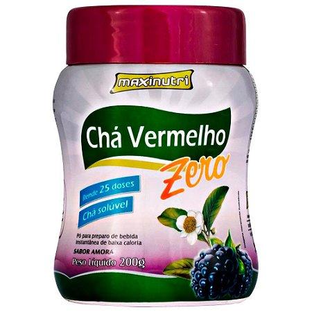Chá Vermelho Zero - 200 Gramas - Maxinutri Amora
