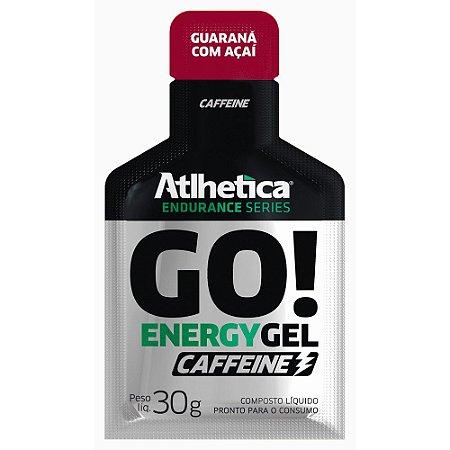 Go! Energy Gel Caffeine - 10 Sachês de 30g - Atlhetica