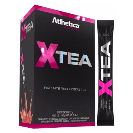 XTea - 20 Sticks de 7 gramas - Atlhetica
