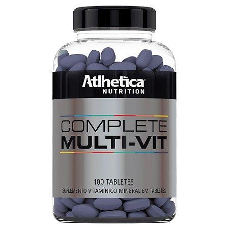 Multivitamínico Complete - 100 Tabletes - Athletica