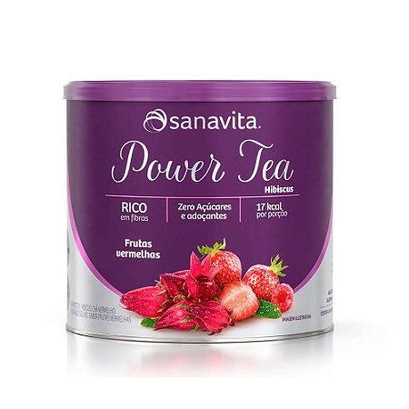 Power Tea Chá de Hibiscus - 200 Gramas - Sanavita
