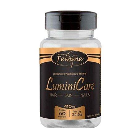 LuminiCare (Hair Skin & Nails) - 60 Cápsulas - Apisnutri