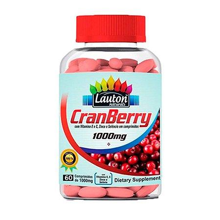 Cranberry 1000mg - 60 Comprimidos - Lauton