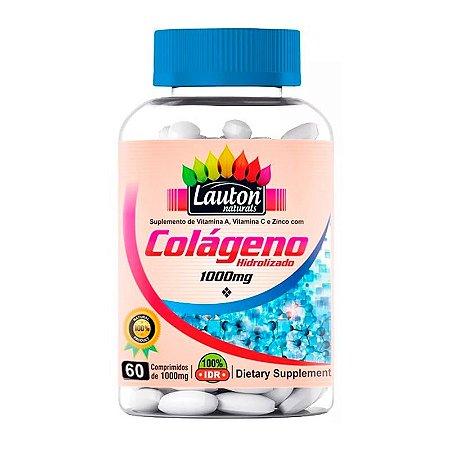 Colágeno Hidrolisado 1000mg - 60 Comprimidos - Lauton