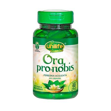 Ora Pro-Nóbis - 60 Cápsulas - Unilife