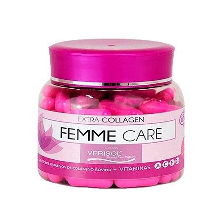 Colágeno Verisol Femme Care - 90 Cápsulas - Unilife