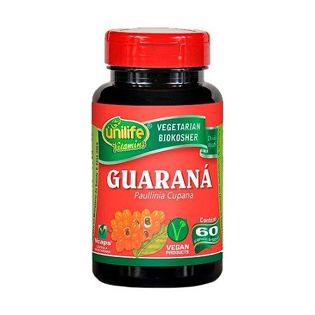 Guaraná (paunilha cupana) - 60 cápsulas - Unilife