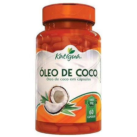 Óleo de Coco - 60 Cápsulas - Katigua